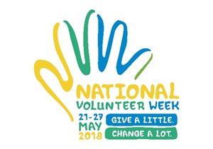 National Volunteer Week logo<br/>