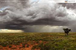 Thunderstorm at Boolcoomatta Station Reserve