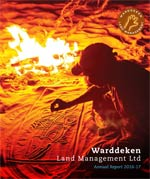 Warddeken annual report cover