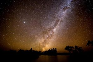 The Emu Constellation. Photo Rebecca Diete at Naree Reserve, NSW.