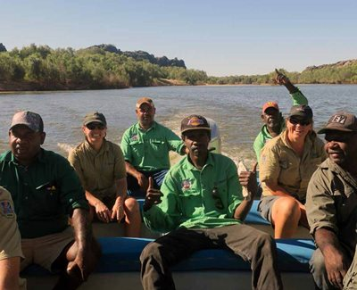 Bunuba Rangers. Photo BDAC.