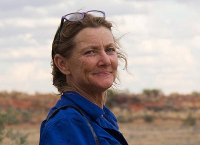 Jane Blackwood is our Reserve Manager at Cravens Peak. Photo Silvia Storchi.